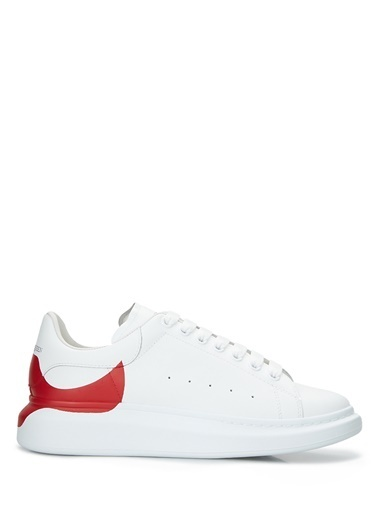 Alexander McQueen Alexander McQueen   Erkek Deri Sneaker 101604320 Kırmızı